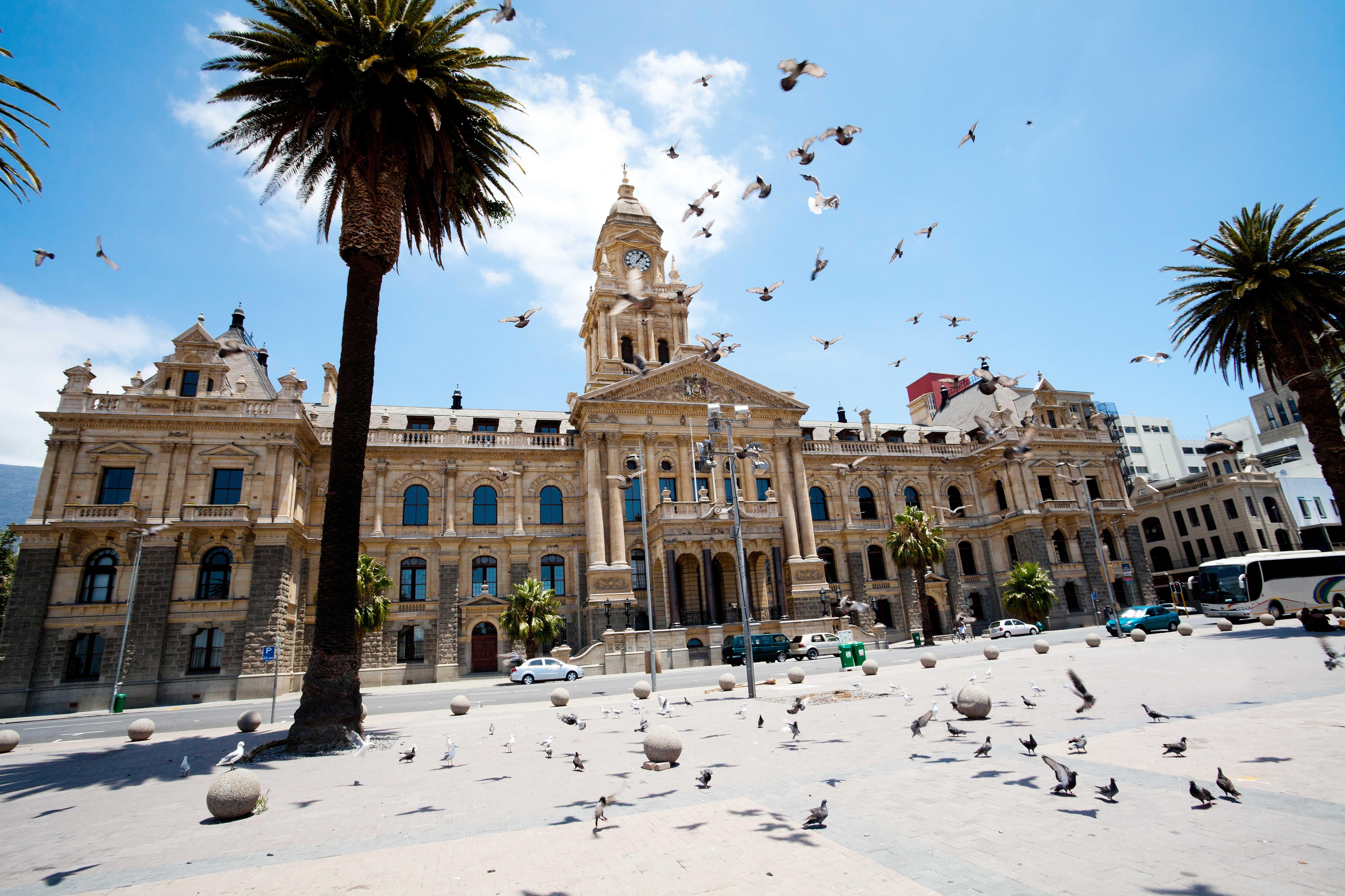 City tour regular de meio dia em Cape Town em português ou espanhol (sem Table Mountain)