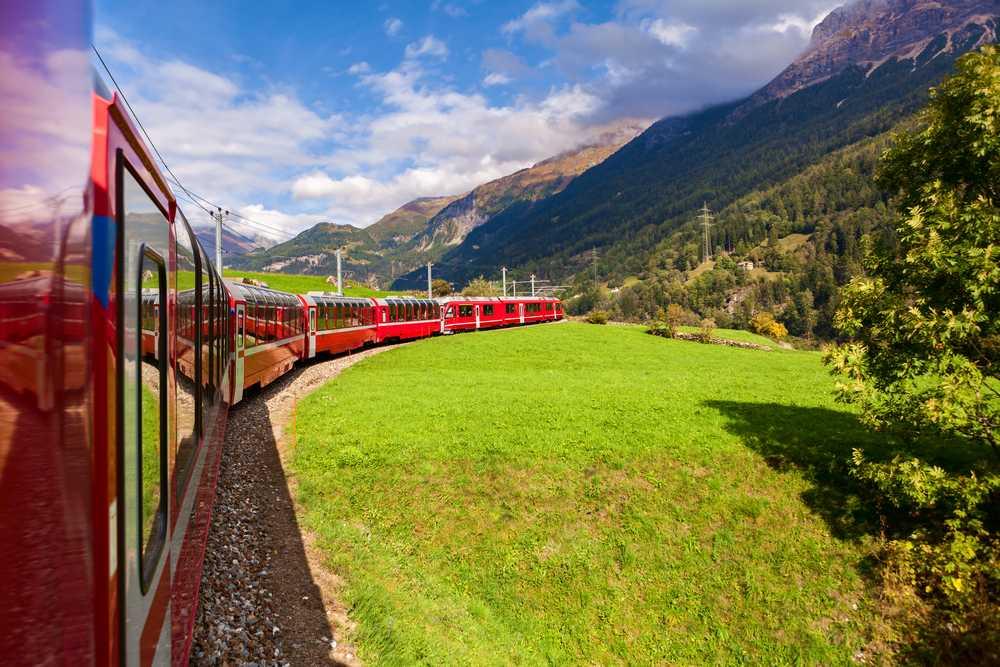 Suíça no Glacier Express com trem ao Jungfraujoch - CH09MR