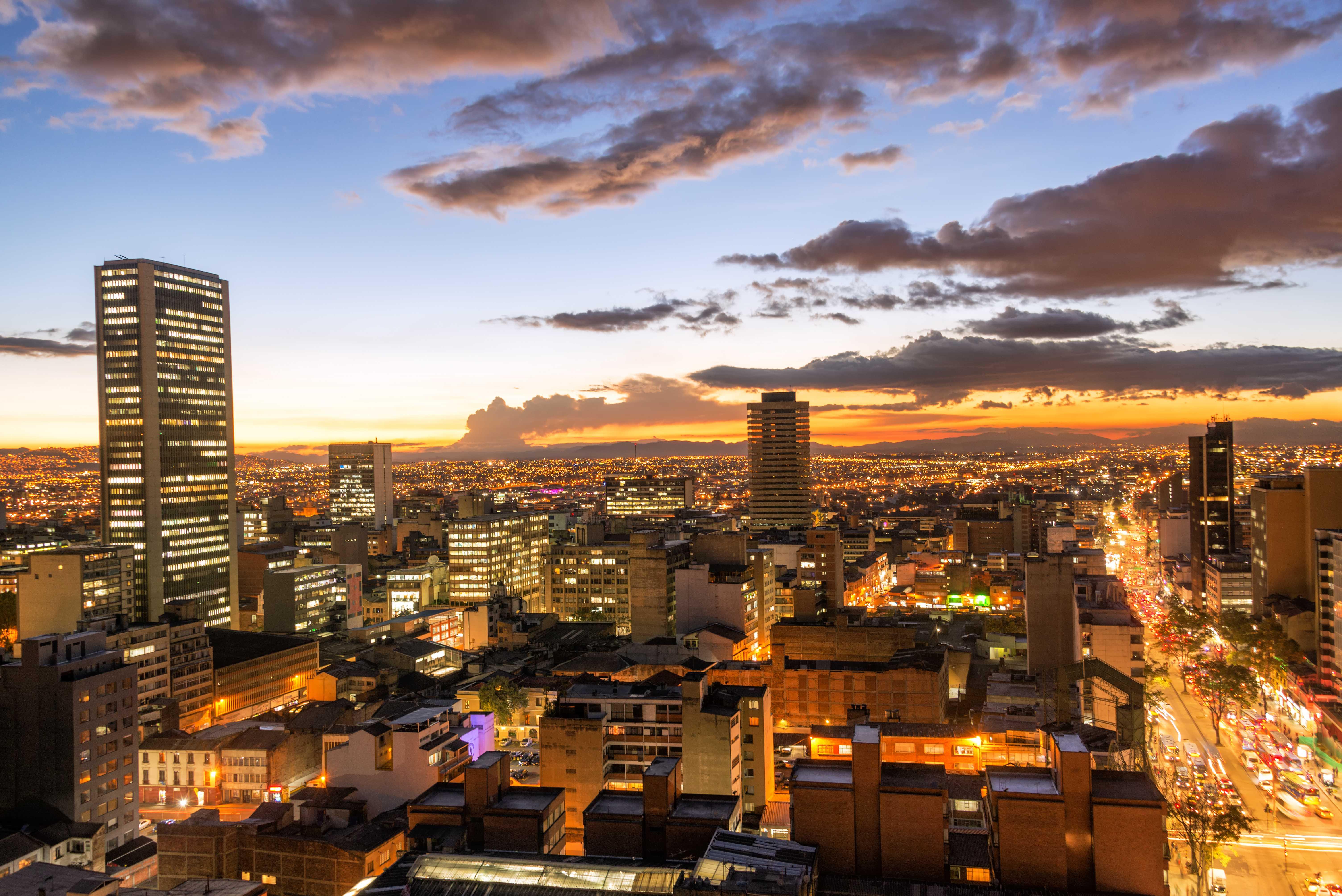Contraste das Cidades, Bogotá e San Andrés
