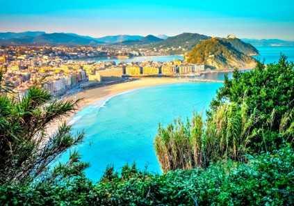 San Sebastian e Biarritz | Tour Regular de Dia Inteiro (saída de Bilbao)